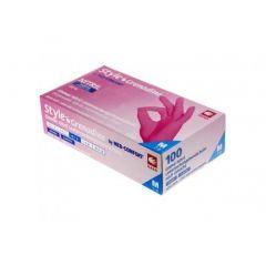Nitrilhandsker Pink - Vælg størrelse