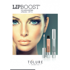 Tolure Lipboost Clear/Caramel Brochure